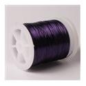 Lakovaný měděný drátek 0,5 mm/20 m purpurová
