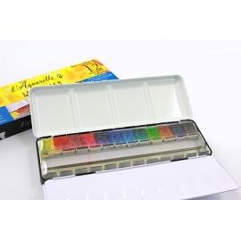 Sada akvarelových barev Sennelier 12 ks v mistrovské kvalitě