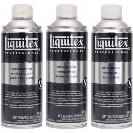 Závěrečný lak ve spray saten 400 ml - Liquitex