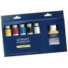 Sada olejových barev Lefranc fine oil box 5*40 ml