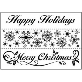 Embos kapsa vánoční bordury