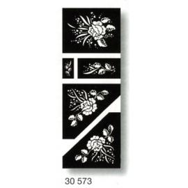 Šablona pro lept- růže II
