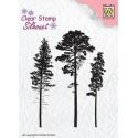 Razítko silikonové tři stromy
