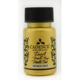 Dora metalic 75 ml -  rich gold