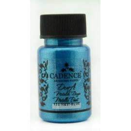 Dora metalic 75 ml -  mavi blue