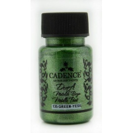 Dora metalic 75 ml -  green