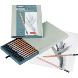 Grafitové tužky box 12 ks