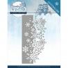 Vyřezávací šablona - třpytivá zima