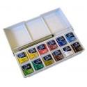 Sada akvarelových barev Cotman 12 ks v miskách