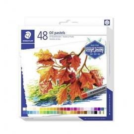 """Olejové pastely """"Design Journey"""", sada, 48 barev, STAEDTLER"""