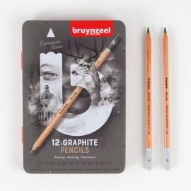 Grafitové tužky box 12 ks - měkké Royal Talens