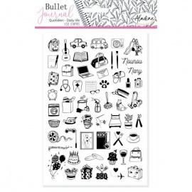 Gumová razítka pro Bullet journal  - cestování