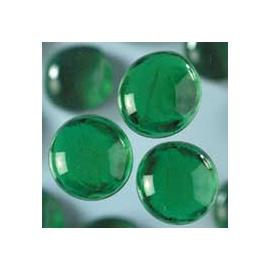 Nugety sklo 100gr- zelená 13-15 mm