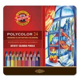 Souprava pastelek polycolor 24 ks - karton
