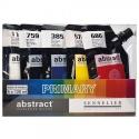 Sada akrylových barev Abstract Sennelier - primární odstíny