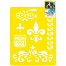 Šablona - ornamenty 20*25 cm