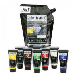 Sada akrylových barev Abstract Sennelier - 8*21 ml