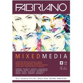 Blok Mix media 250 gr- 40 istů A5