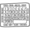 Keta razítko 813 - kalendář