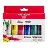 Sada akrylových barev amsterdam 6 x20 ml