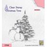 Silikonové razítko - sněhulák a stromeček