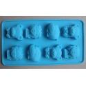 Forma silikonová pro mýdlo zvířátka
