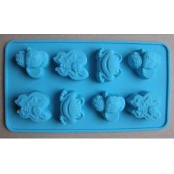 Forma silikonová pro mýdlo zvířátka II