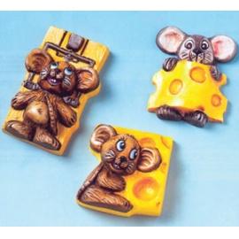 Forma na odlévání myšky a sýr