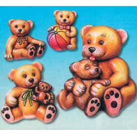 Forma na odlévání medvídci