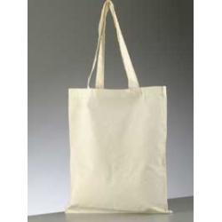 Bavlněná taška 38*42-bílá