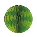 Plastvový papír 18*25 cm zeleno-žlutý