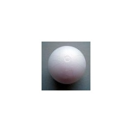 Koule polystyren 2dílná 16 cm