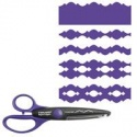 Nůžky ozdobné 17 cm - 12843