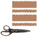 Nůžky ozdobné 17 cm - 12846