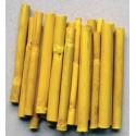 Bambus 10 cm * 10 ks - žlutý