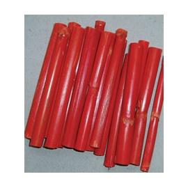 Bambus 10 cm * 10 ks - oranžový