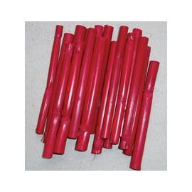 Bambus 10 cm * 10 ks - červený