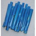 Bambus 10 cm * 10 ks - modrý