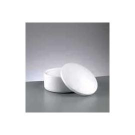 Polystyrenová krabička-kruh