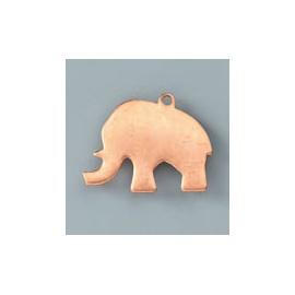 Výsek pro smalt - slon