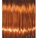 Měď.lak drát 0,5mm/25m - oranž