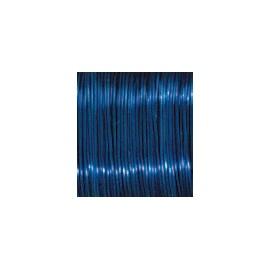 Měď.lak drát 0,5mm/25m-modrý
