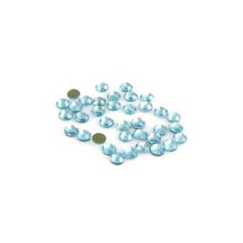 Hot fix nažehlovací kamínky  Aqua 1gr-cca 72ks 2,8 mm