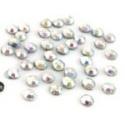 Hot fix nažehlovací kamínky  AB crystal 1gr-cca 30ks 4mm
