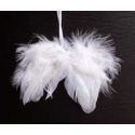 Andělská křídla 10 cm - 2 ks