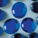 Nugety sklo 100gr- modrá 13-15 mm