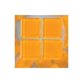 Mozaika sklo 100gr-100ks 1*1cm oranž