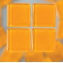 Mozaika sklo 200gr-200ks 1*1cm oranž