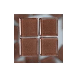 Mozaika sklo 100gr-100ks 1*1cm hnědá