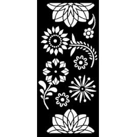 Šablona - ornament M 15*30 cm